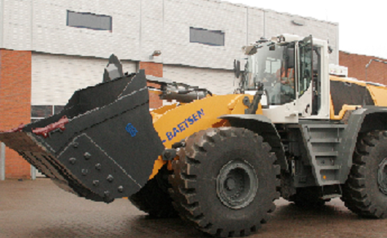 HD Wheelloader Bucket1
